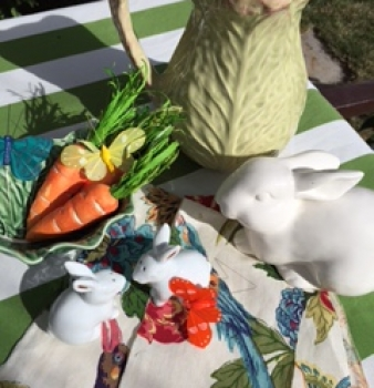 Setting a Colorful and Easy Easter Table