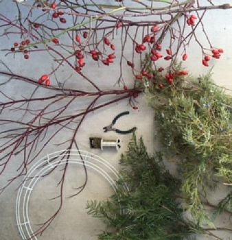 Last Minute Holiday Decorating with Natural Elements